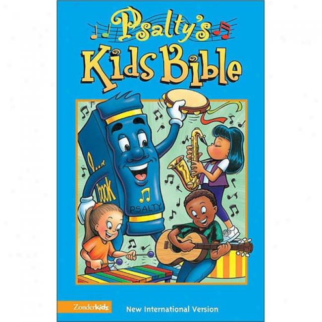 Psalty's Kids The Scriptures By Ernie Rettino, Isbn 0310703182