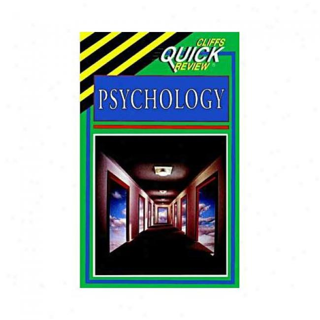 Psychology By Cliffs Notes, Isbn 0822053276