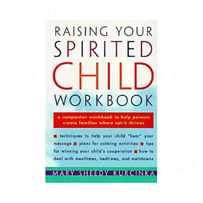 Raising Your Spirited Child Workbook By Mary Sheedy Kurcinka, Isbn 0060952407