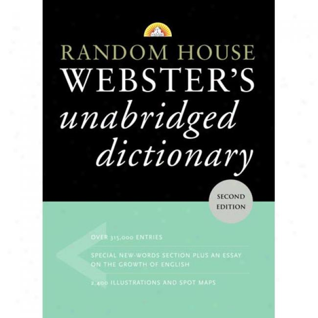 aRndom House Webster's Unabridged Dictionary