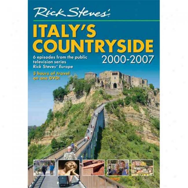 Rick Steves' Italy's Countryside Dvd 2000-2007