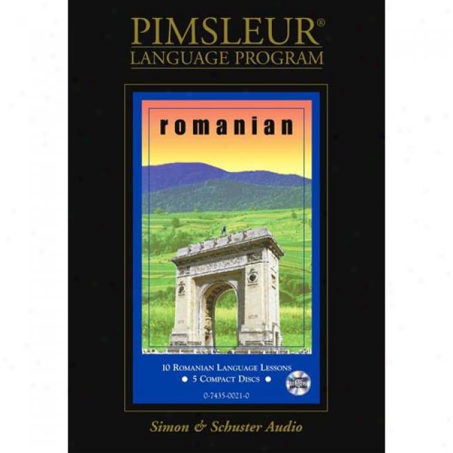 Romanian By Paul Pimsleur, Isbn 0743500210
