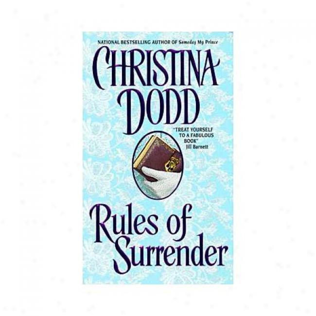 Rules Of Surrender By Christina Dodd, Isbn 0380811979