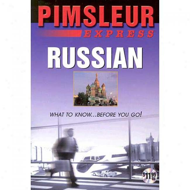 Russian Express By Pimsleur, Isbn 0843533895