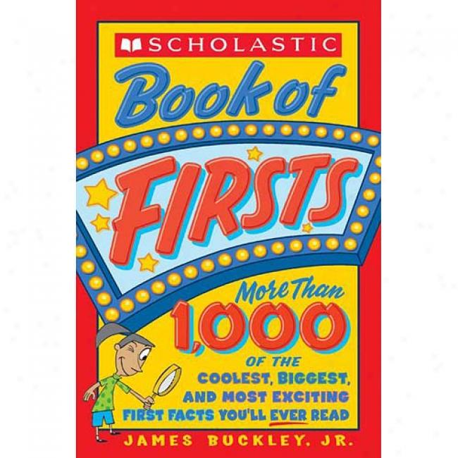 Scholaatic Book Of Firsts