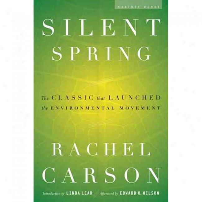 Silent Spring By Rachel Carson, Isbn 0618249060