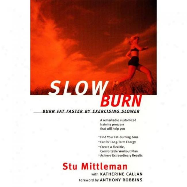 Slow Tingle: Glow Fat Faster By Exercising Slower By Stu Mittleman, Isbn 0062736744