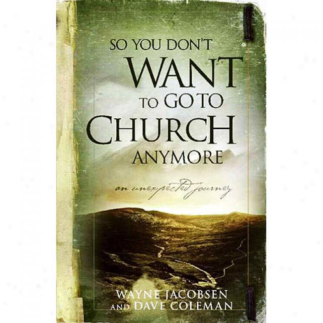 So You Don't Want To Go To Church Anymore: An Unexpected Journey Into The Reality Of The Father's Family
