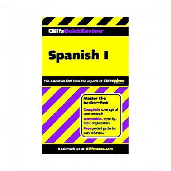 Spanish I By Jill Rodriguez, Isbn 0764563874