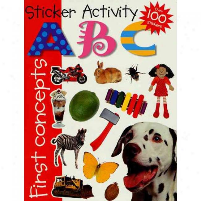 Sticker Activity Books By Priddy Bicknell, Isbn 0312491433
