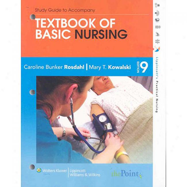 Con over Guide To Attend Textbiok Of Basic Nursing