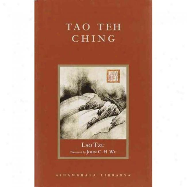 Tao Teh Ching By Lao Tzu, Isbn 1570629617
