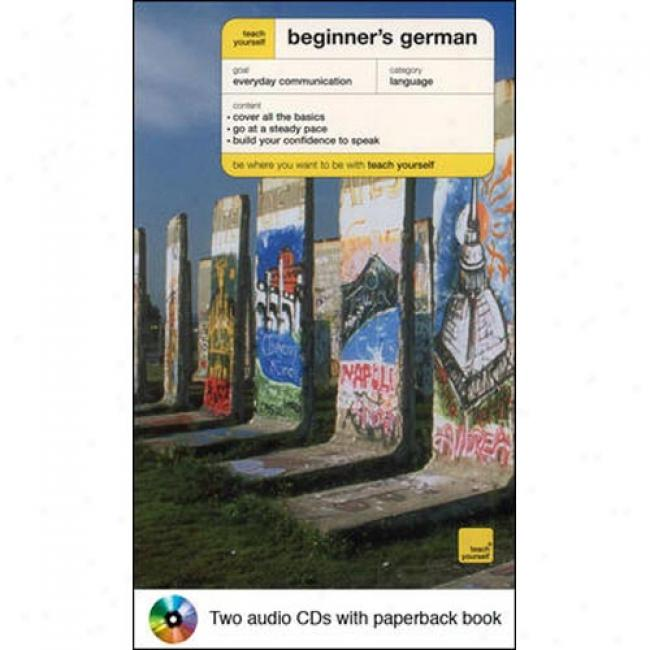 Teach Yourself Beginner's Germna Audiopackage By Rosi Mcnab, Isbn 007142427x