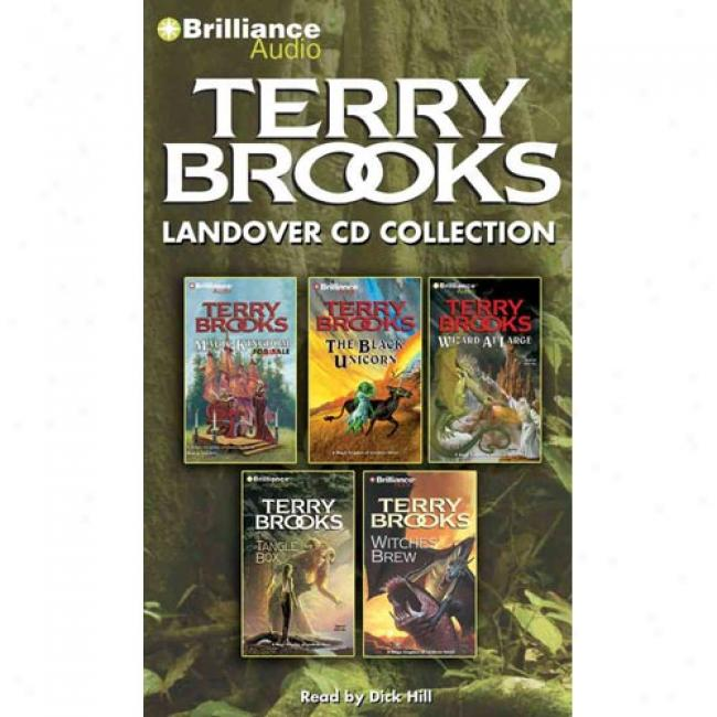 Terry Brooks Landover Cd Collection: Magic Kingdom For Sale-skld!, The Black Unicorn, Wizard At Large, The Tangle Box, Witches' Brew