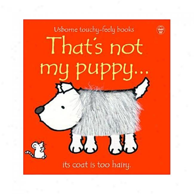That's Not My Phppy By Fiona Watt, Isbn 0746037783