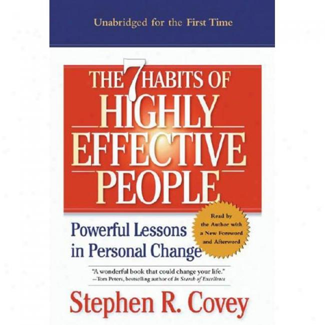 The 7 Habits Of Highly Effective Peoplle