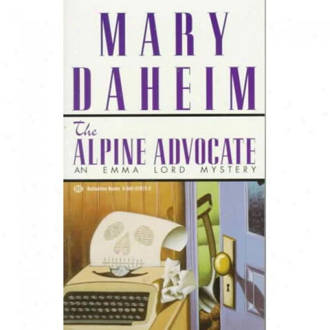 The Alpine Defender By Mary Daheim, Isbn 0345376722
