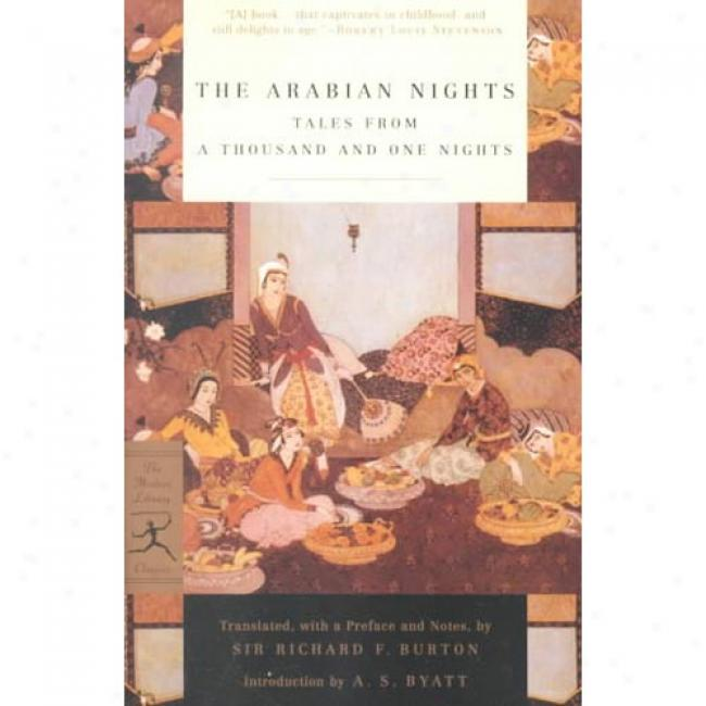 The Arabian Nights By Richard Francis Burton, Isbn 0375756752