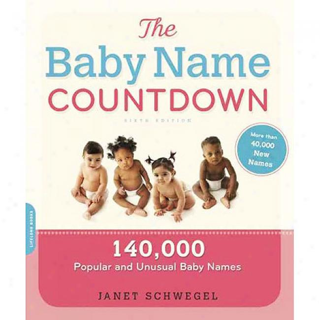 The Baby Name Countdown: 140,000 Popilar And Unusual Baby Names
