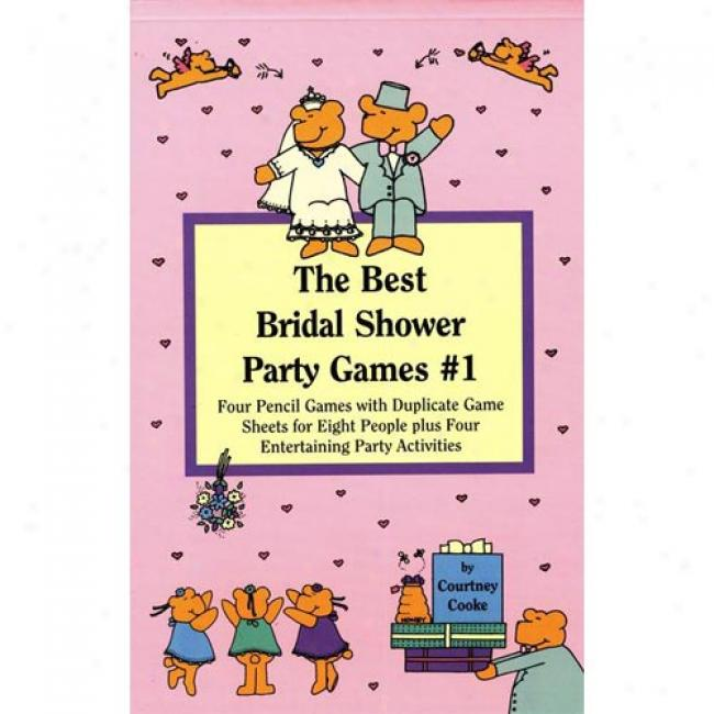 The Best Bridal Shower Party Games By Corutney Cooke, Isbn 0671574965