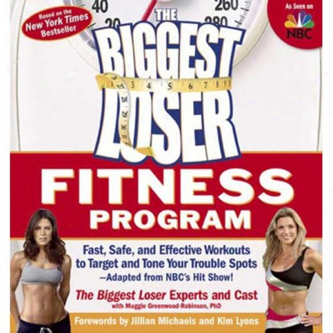 The Biggest Loser Fitness Program: Fast, Safe, And Effective Workouts To Target And Tone Your Trouble Spkts--adapted From Nbc's Hit Show!
