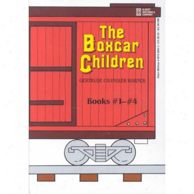 The Boxcar Children Mysteries-4 Power Boxed Set By Gertrude Chanlder Warner, Isbn 0807508543