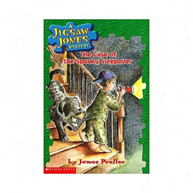 The Case Of The Spooky Sleepover By James Preller, Isbn 0590691295