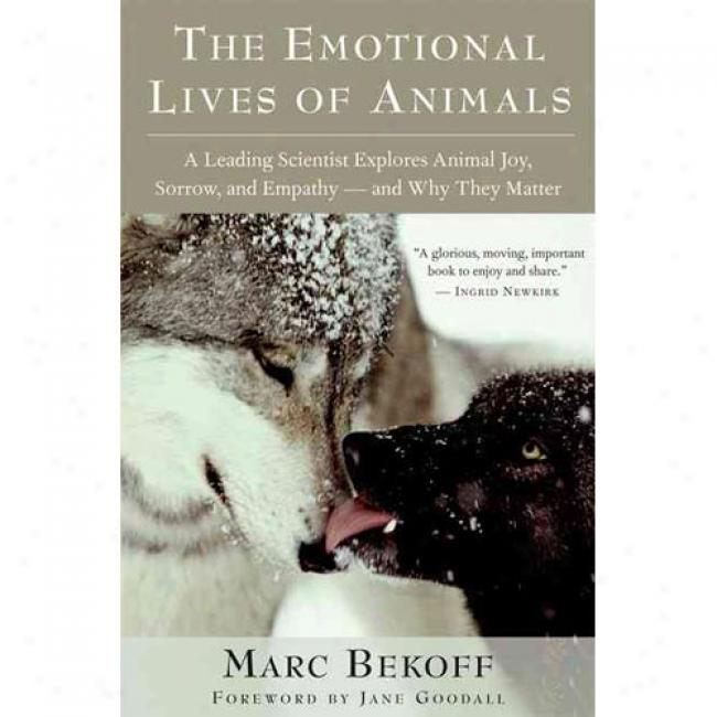 The Emotional Lives Of Animals: A Leading Scientist Explores Animal Gladness, Sorrow, And Empathy - And Why They Matter