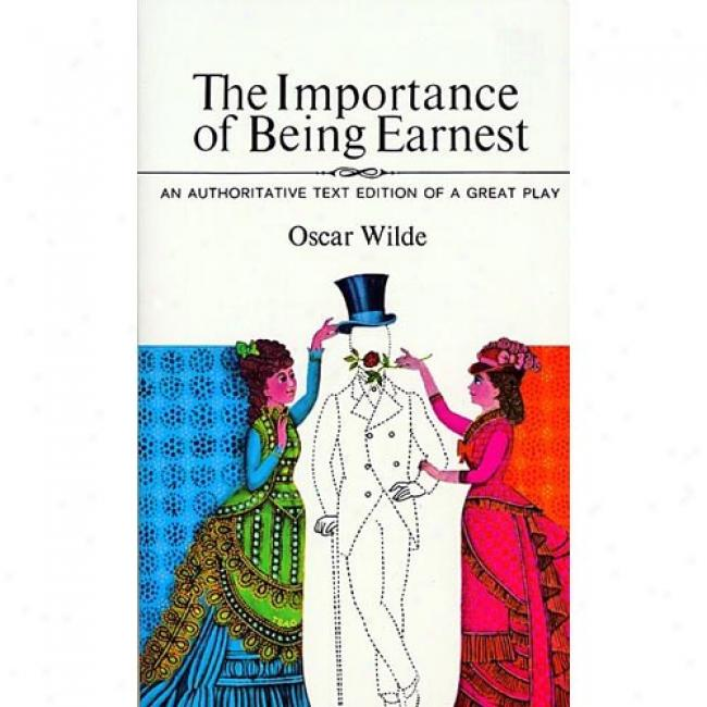 The Importance Of Being Earnedt By Oscar Wilde, Isbn 0380012774
