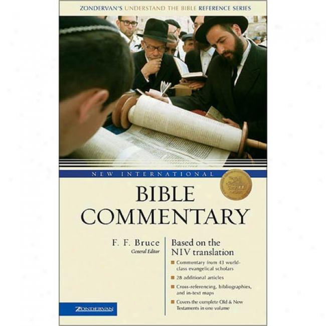The International Bible Commentary With The New Internationak Version By Frederick Fyvie Bruce, Isbn 0310220203