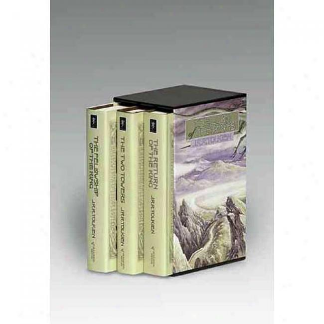 The Lord Of The Rings Boxeed Set: Two Towers, Return Of The King, Fellowship Of The Ring By J. R. R. Tolkien, Isbn 0395489326