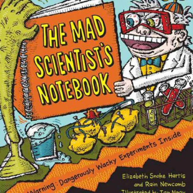 The Mad Scientist's Notebooo: Warning! Dangerously Wacky Experiments Insiidde