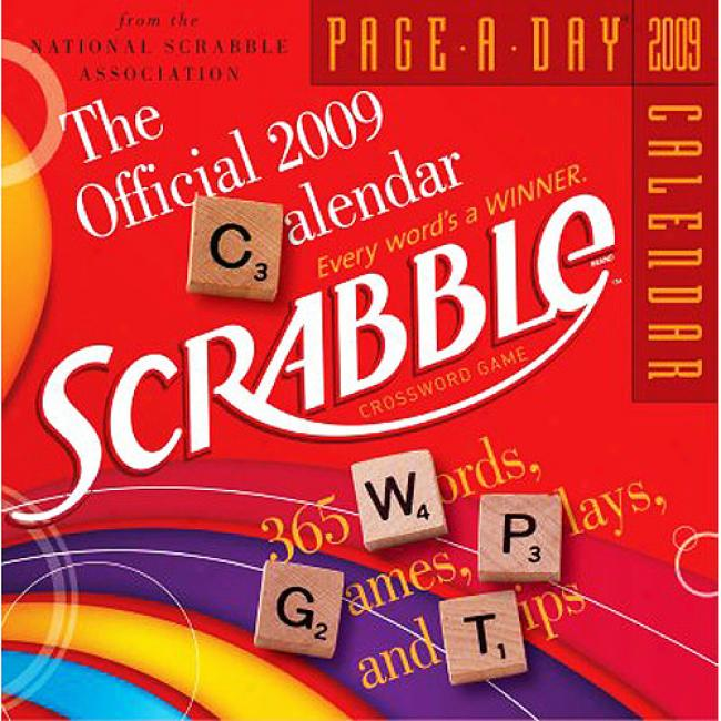 Th eOfficial Scrabble Page-a-day Calendar
