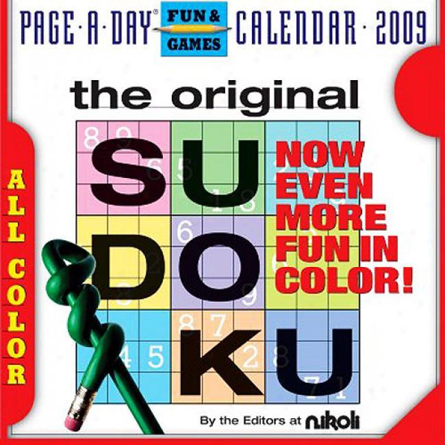The Orjginal Sudkou Page-a-day Calendar