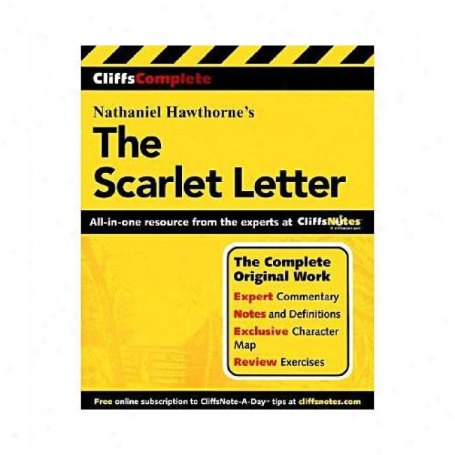 The Scarlet Literal meaning By Nathaniel Hawthorne, Isbn 0764587242