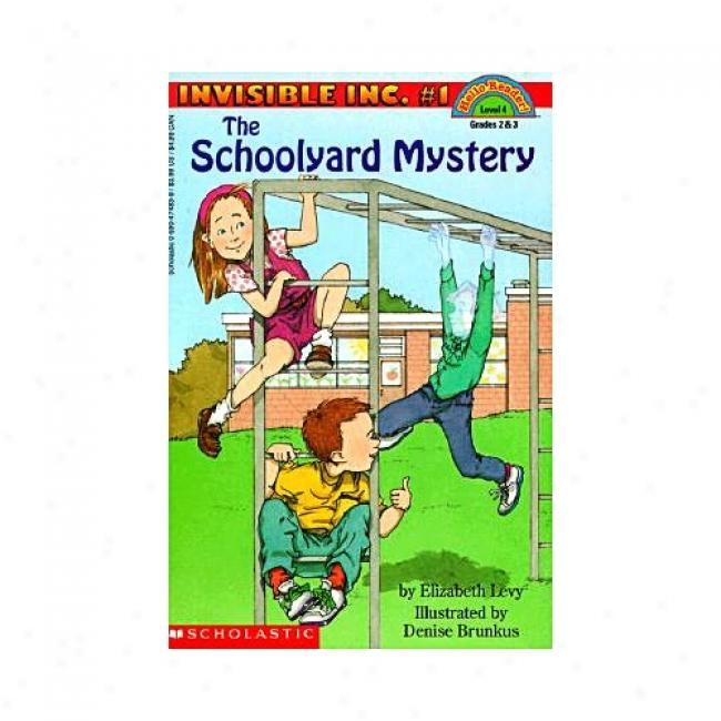 The Schoolyard Mystery By Elizabeth Levy, Isbn 0590474839