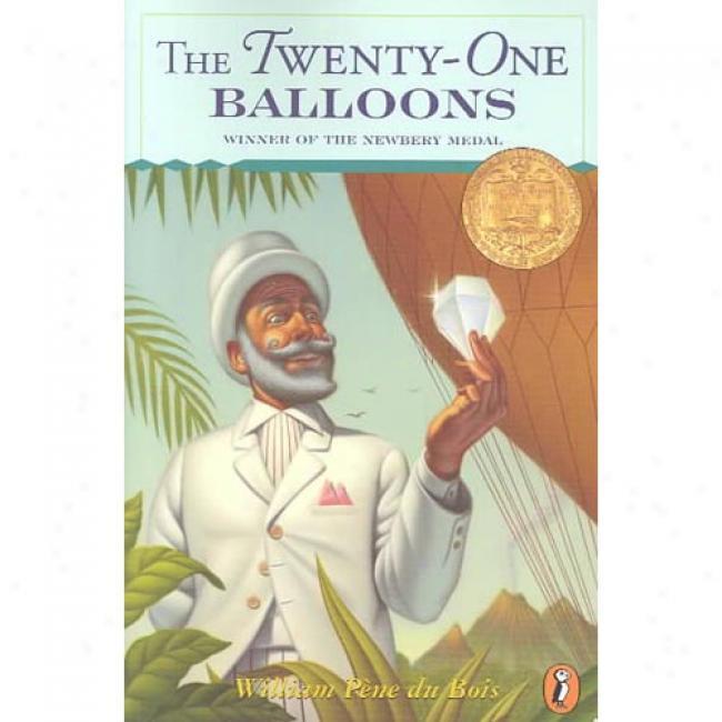 The Twenty-one Balloons By William Paene Du Bois, Isbn 0140320970