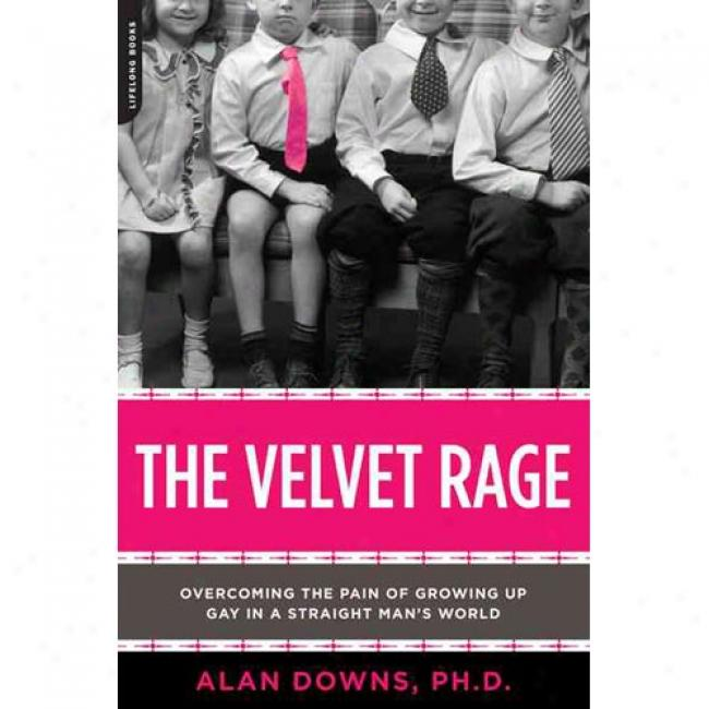 The Velvet Rage: Oveercoming The Pain Of Growing Up Gay In A Straight Man's World