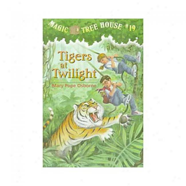 Tigers At Twilight By Mary Pope Osborne, Isbn 0679890653