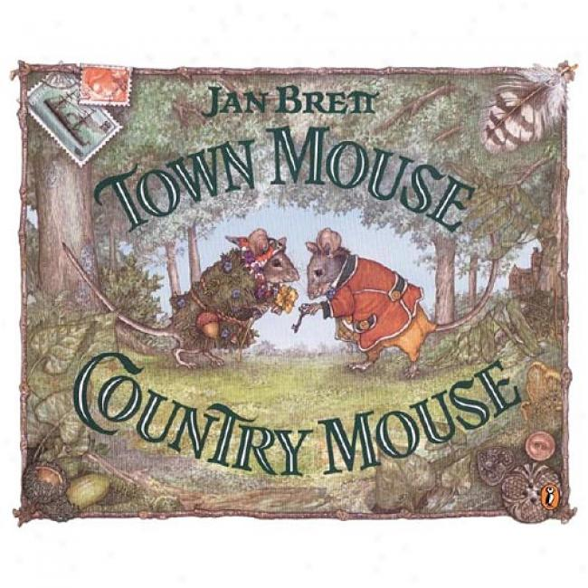Place Mouse Country Mouse By Jan Brett, Isbn 069811986x