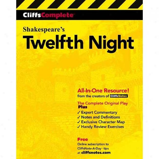 Twelfth Night By Chris Stroffolino, Isbn 0764585770