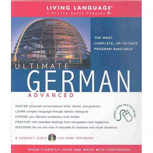 Constituent German Advanced (cd Pkg) By Living Language, Isbn 1400020603