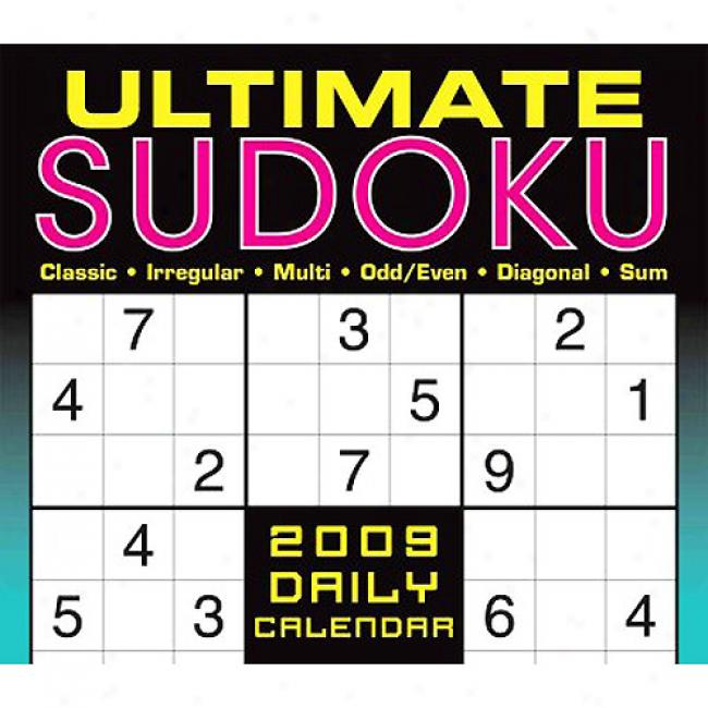 Ultimate Sudoku Daily Calendar