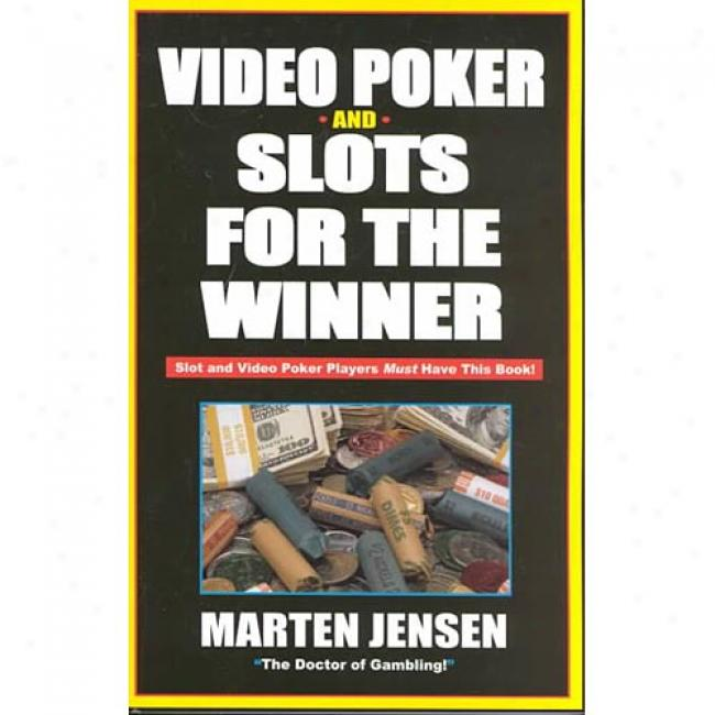 Video Poker For The Winner By Marten Jensen, Isbn 1580420621
