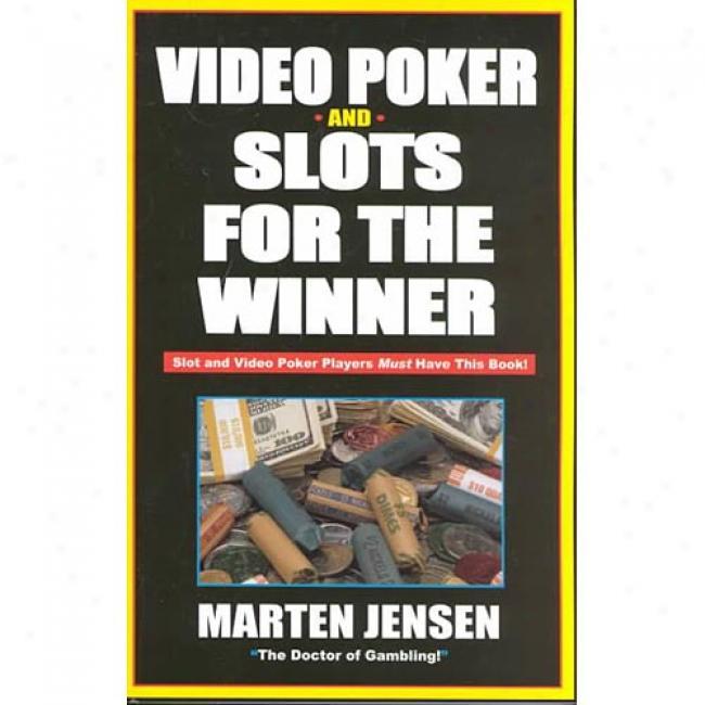 Video Poker For The Winner By Marten Jensen, Isbn 1580420621
