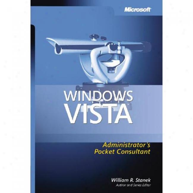 Windows Vista Administrator's Pocket Consultant