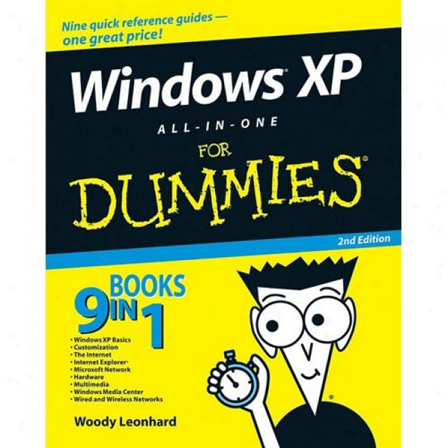 Windows Xp All-in-one Desk Reference For Dummies