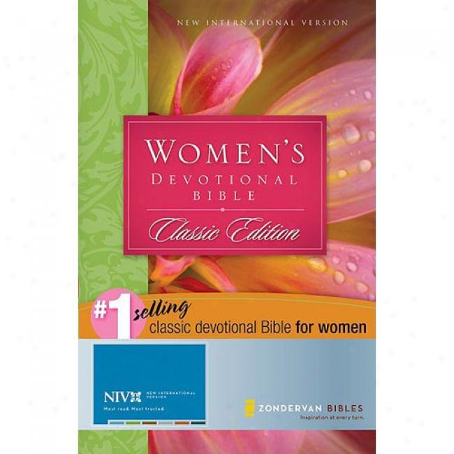 Women's Devotional Bilbe By Zondevan Bible Publishers, Isbn 0310916313