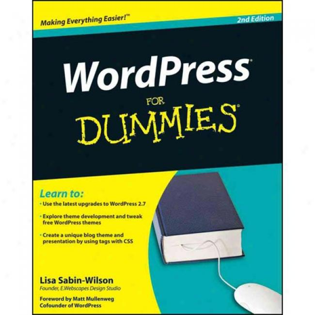 Wordpress In spite of Dummies