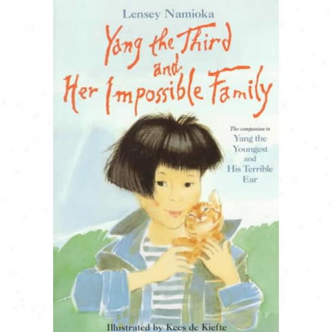 Yang The Third And Her Impossible Family By Lensey Namioka, Isbn 0440412315